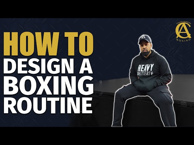 How to Design A Boxing Routine [ With Free 5 Day P.D.F in Description! ]