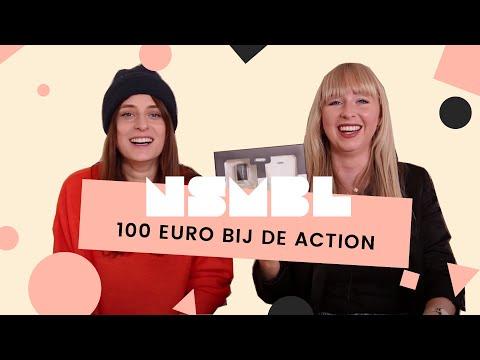 Wij gaven 100 EURO uit bij de Action!