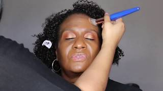 Client Holiday Makeup Tutorial