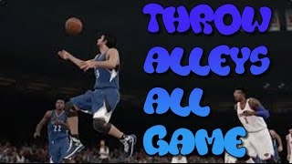 NBA 2K15 How To Throw Alley Oops Every Time Tips/Tutorials