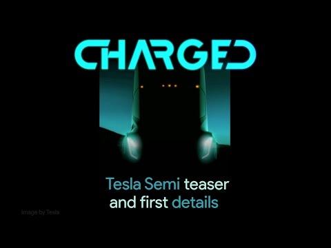 Tesla Semi: Teaser image and first details.