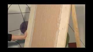 Штукатурка Декор Короед (рисунок Дождь) декоративная(Техника нанесения декоративной акриловой штукатурки
