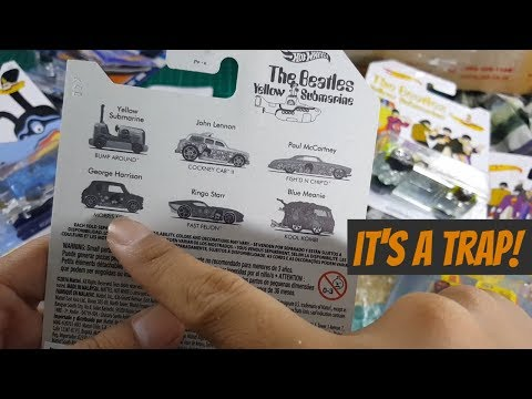 OMG OMG OMG... look what i found on Hot Wheels The Beatles Yellow Sub Marine SET....