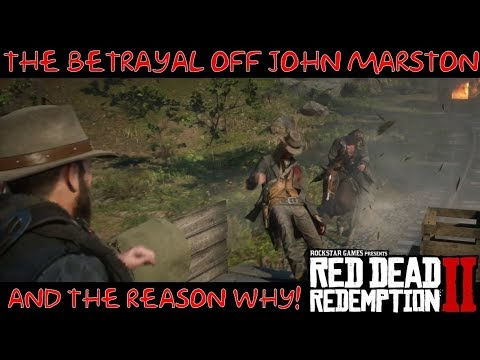Red Dead Redemption 2 | The Reason why Dutch betrayed John Marston thumbnail