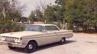 One Owner 46 Years 1964 Mercury Cyclone 289 4 Speed - ROAD TEST
