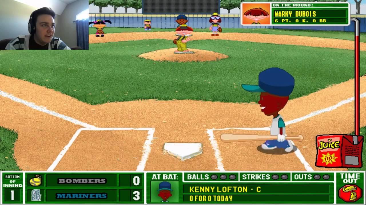 backyard baseball 2001 extra innings pt 1 fear the bombers youtube