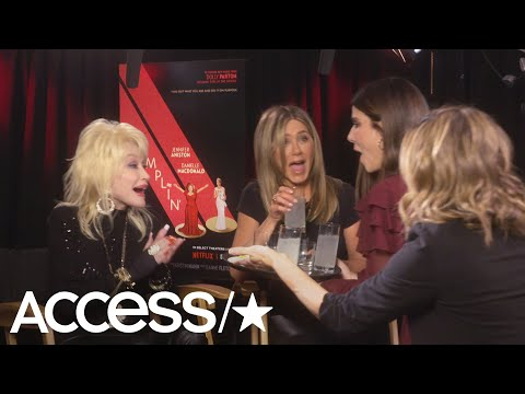 Sandra Bullock Crashes Jennifer Aniston & Dolly Parton's 'Dumplin' Interview & Brings Tequila! Mp3