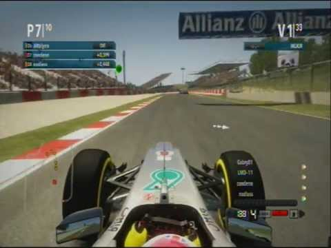MSA F1 GP España Carrera vista desde zandenn.