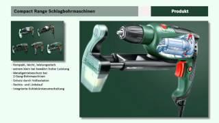 Tutorial: Schlagbohrmaschinen PSB Compact von Bosch