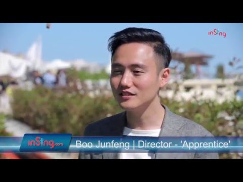 Boo Junfeng on 'Apprentice', Cannes & filmmaking in Singapore