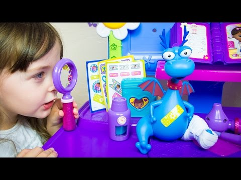 Doc McStuffins Toys Stuffy Make Me Better Playset Disney Toys