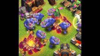 3 Star ANY base!!! TH11 3 star strategy - Clash of Clans Legends League Attacks Bowler Witch