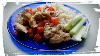 Как приготовить курицу в духовке. Курица в горчичном маринаде