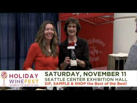 2017 Holiday Wine Fest ~ Seattle Nov. 11th