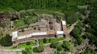 видео Армения, Гарни (храм). Республика Армения: достопримечательности