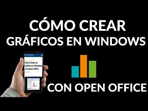 Cómo Crear un Gráfico en Windows con Open Office
