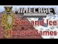 Minecraft xbox 360 Hunger Games | Fire and Ice | w/ Map Download | Survival Games