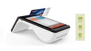 Cynovo pr6 is a mobile hand-held point-of-sales (pos) terminal to be used in restaurant, retail, malls and any kind of shop. it runs android 4.4, comes with ...