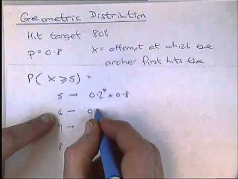 The Geometric Probability Distribution Example