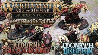 Warhammer: Age of Sigmar 2E Battle Report - Deepkin vs. Bloodbound