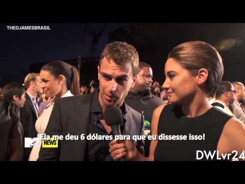 Theo James Funny & Sexy Moments