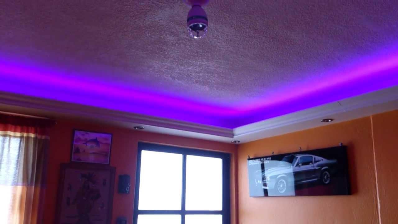 Led rgb sistema audioritmico youtube - Luces led para salon ...