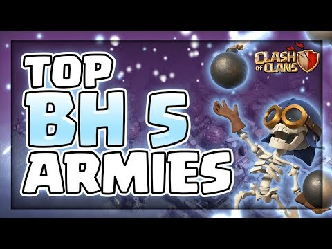 Top Builder Base 5 Attack Strategies | Best Attack Strategies For BH 5 | Clash Of Clans