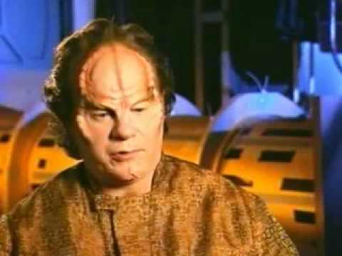 John Billingsley ed on Enterprise set