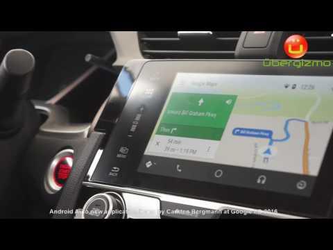 Android auto new demo Google I/O