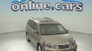 oR97831JA Used 2009 Honda Odyssey EX-L Passenger Mini Van Gold Test Drive, Review, For Sale