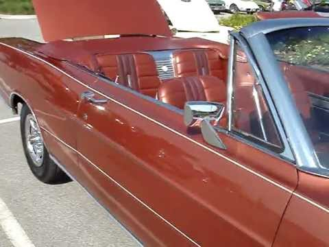 1966 7 LITRE FORD GALAXIE 500 CONVERTIBLE -- FULL SIZE FORD MUSCLE CAR