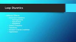 Loop Diuretics - Medication Education for Healthcare Professionals