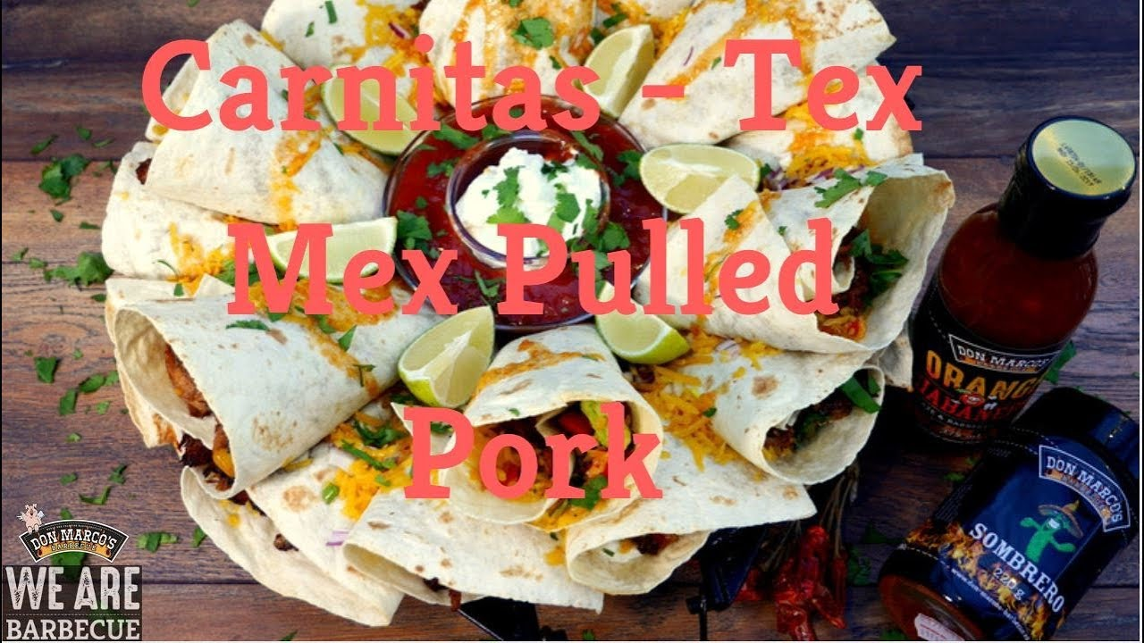 Pulled Pork Gasgrill Dutch Oven : Don marco s carnitas tex mex pulled pork aus dutch oven und