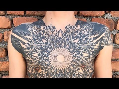 Geometric And Blackwork Tattoos By Kenji Alucky