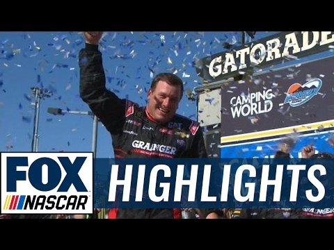 Ryan Newman Snaps RCR's Winless Streak   2017 PHOENIX  FOX NASCAR