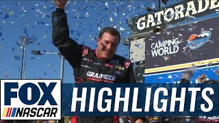 Ryan Newman Snaps RCR's Winless Streak  | 2017 PHOENIX | NASCAR on FOX