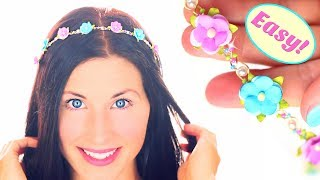 DIY headband | No tools!!! | Diy hair accessories