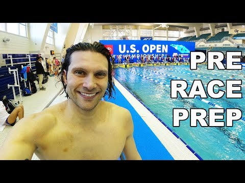 SWIMMING At The US OPEN