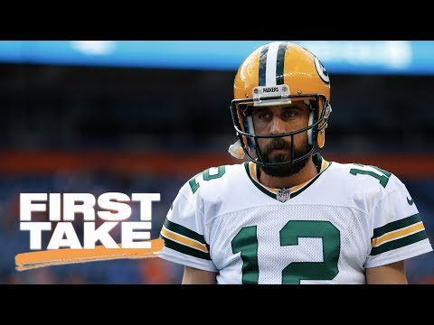First Take reacts to Aaron Rodgers