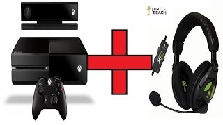 turtle beach x12 xbox one setup tutorial
