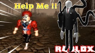 ROBLOX | Being Slender Man Hunt When Lost In The Desolate Forests | SLENDER: AMENDED | Vamy Tran