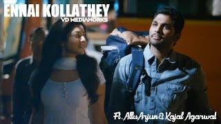 Ennai Kollathey | Allu Arjun & Kajal Aggarwal | Remastered | VD MEDIAWORKS