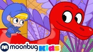 Morphle and The Dinosaurs - My Magic Pet Morphle | Cartoons For Kids | Morphle TV | Kids Videos