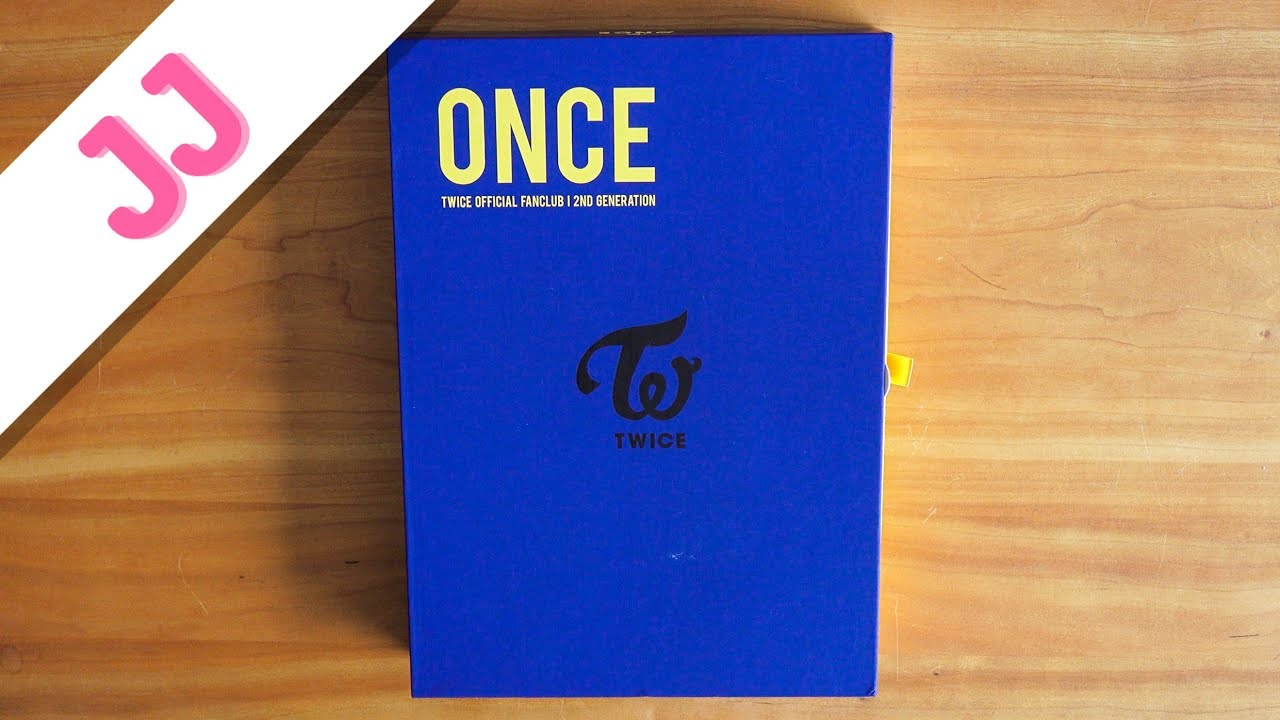 ONCE Official Fanclub (2nd Gen) - TWICE Merch Unboxing | JJ Once