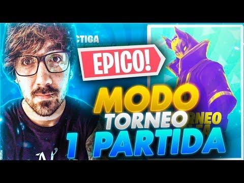 Mi PRIMERA partida EN EL MODO TORNEO DE FORTNITE ! ESTRENANDOME |FORTNITE BATTLE ROYALE