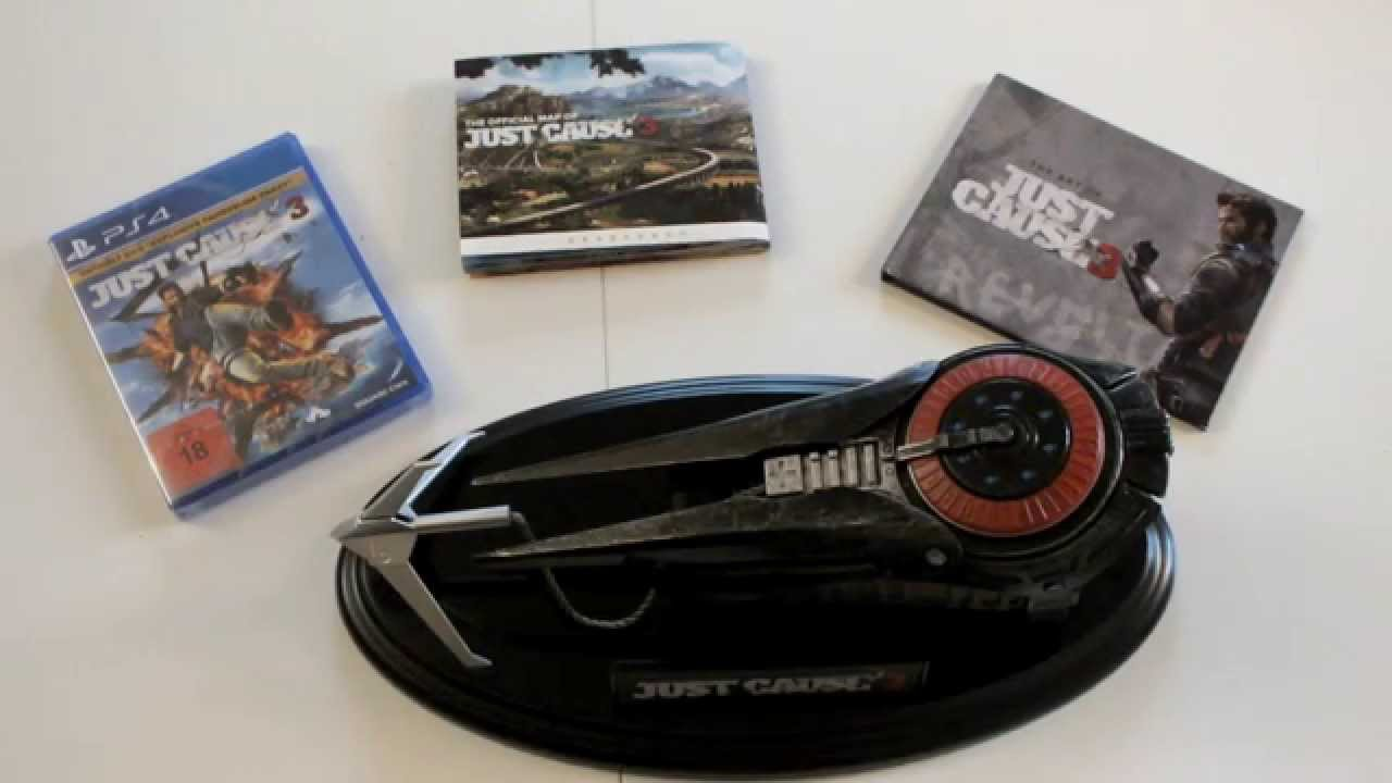 Just cause 3 collector's edition announced. : gaming.