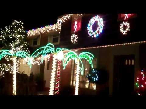 Christmas Lights in Naples Island, Long Beach