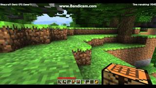 minecraft pc gamer demo basic tutorial (pt1)