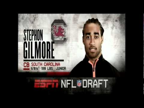 NFL Draft 2012 - Round 1 Pick #10 - Stephon Gilmore (Bills)