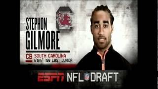 NFL Draft 2012 - Round 1 Pick #10 - Stephon Gilmore (Bills)